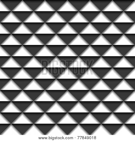 Black and white geometric background. Vector eps10 illustration