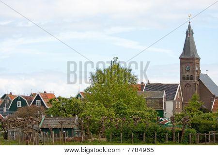 Typical Dutch View Of Marken