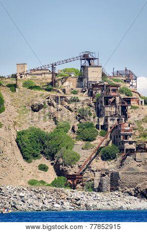 Abandoned Iron Mine (isola D'elba, Italy)