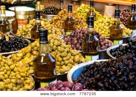 Market: Olives And Oil