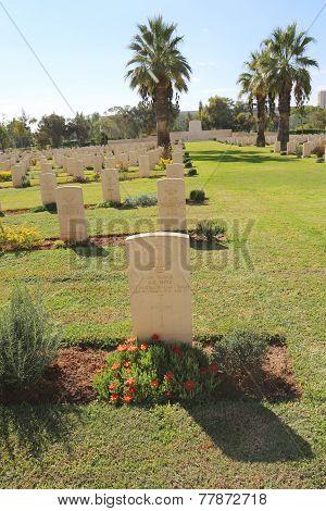 Beer Sheba World War I Cemetery