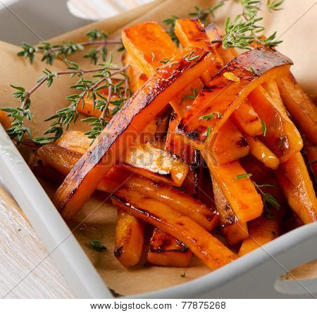 Sweet Potato Fries With  Thyme