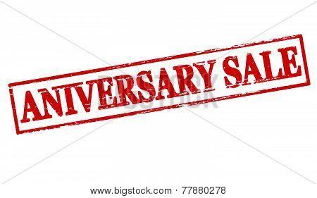 Aniversary sale