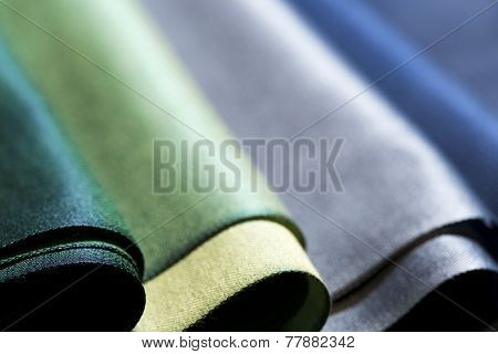 Colorful fabric background.