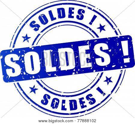 Sales Blue Stamp