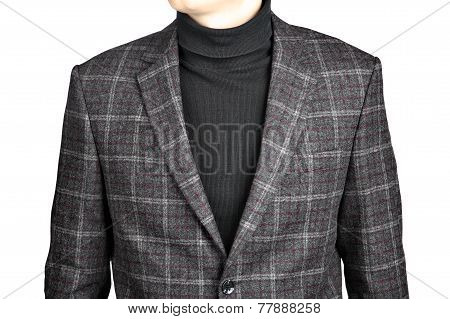 Woolen Suit Jacket Into The Cell