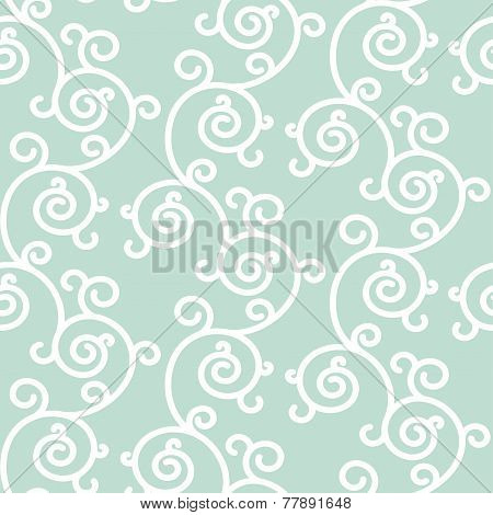 Abstract seamless floral background. Vector backdrop, vector ill