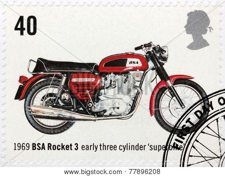 Superbike Stamp