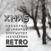 foto of marquee  - Retro marquee font - JPG