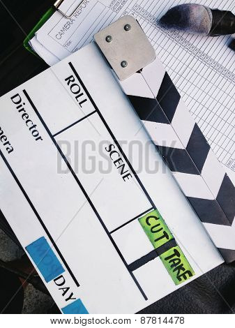 Film Slate background