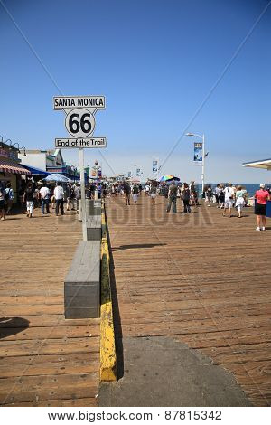 Santa Monica Pier - Route 66