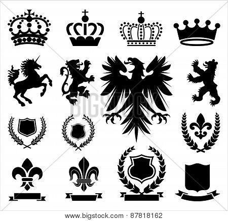 Heraldry Ornaments