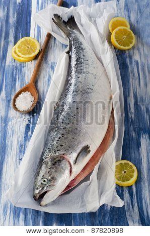 Salmon With Lemon And Spices