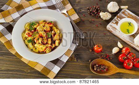 Ravioli Pasta With  Sauce