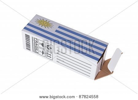Concept Of Export - Product Of Uruguay