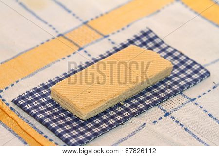 Wafer On A Napkin