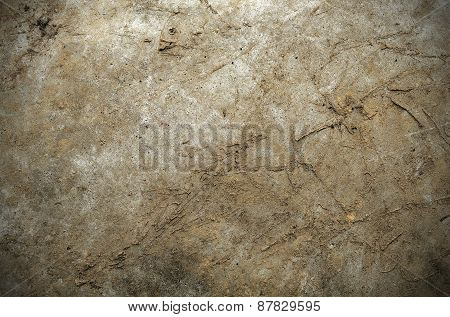 Muddy Metal Texture Background