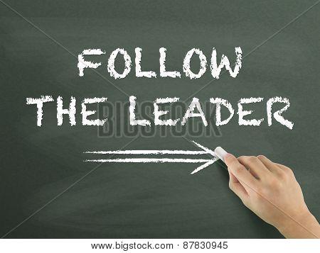 Follow The Leader Written By Hand