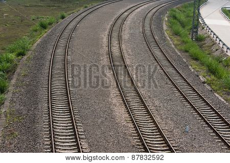Rail Road Tracks