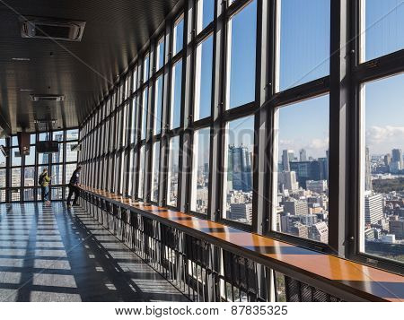 Tokyo Tv Tower Observation Deck