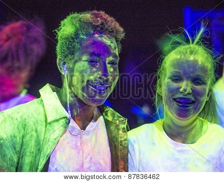 Las Vegas Blacklight Run