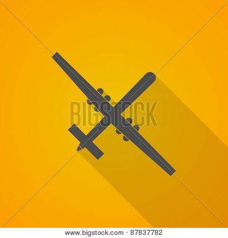 Long Shadow War Drone Icon