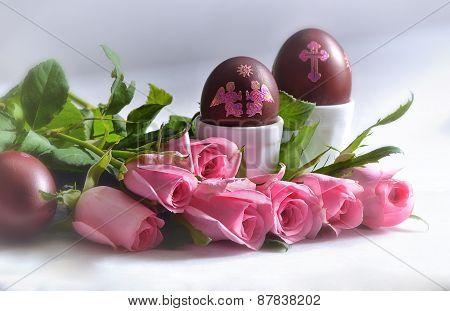 Still life at Easter.