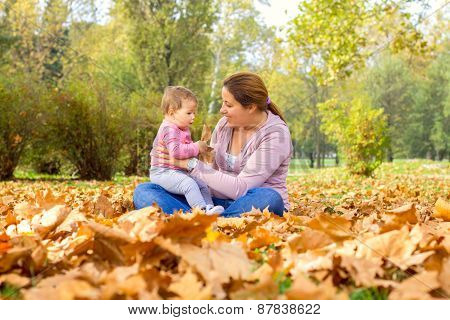 Happy Family Autumn