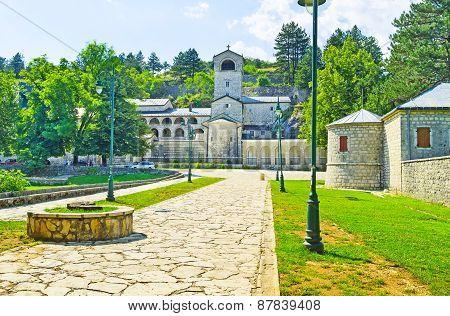 The Monastery Of Cetinje