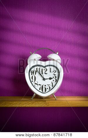 Heart Shape Alarm Clock