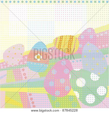 Vector Easter card.
