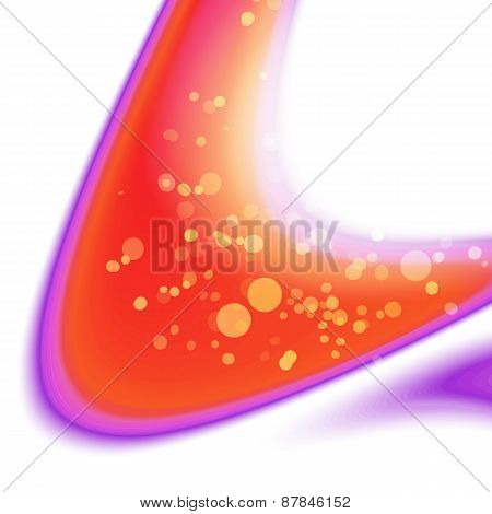 Spring Colorful Abstrcat Waves Background