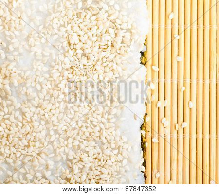 Rice With Sesame