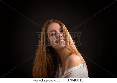 Smiling Sensual Girl