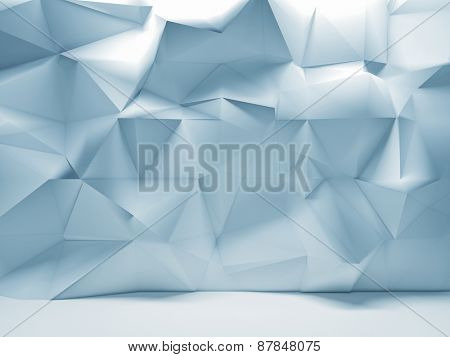 geometric abstract wall 3d image