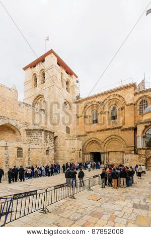 Orthodox Good Friday In Jerusalem
