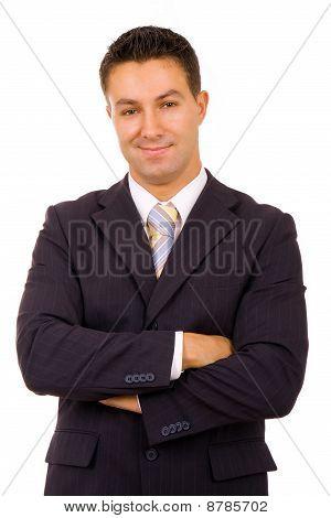 Retrato de homem de negócios jovem
