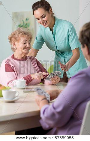 Cards In Nursing House