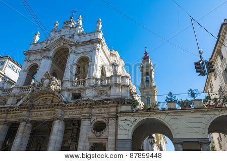 Santissima Annunziata Church in Turin