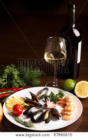 Mussels And Other Seafood