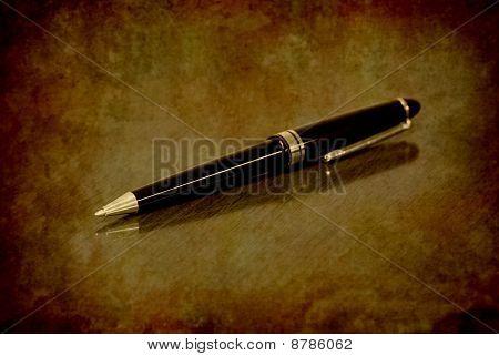 Pen On Desk