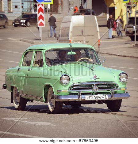 Vintage Soviet Automobile