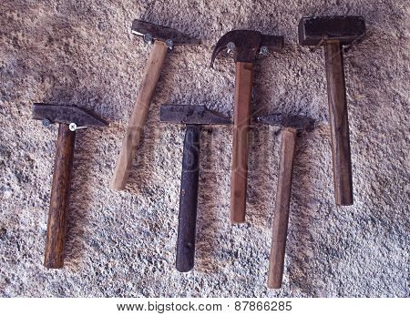 Set of hammers