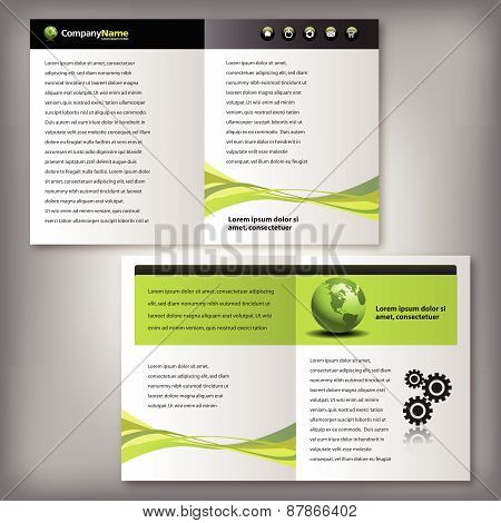 Business Brochure, Flyer Template