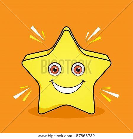 Shinning Star Mascot