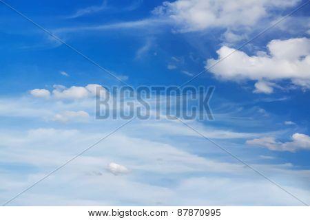 beautiful cloudscape, vector