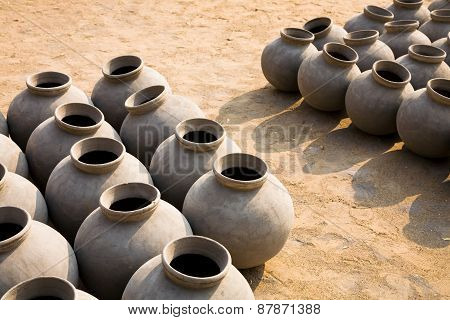 Set Of Ceramic Jars