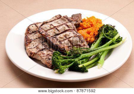 Sirloin Pork Chops