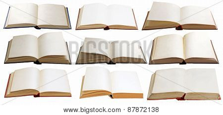 books set, vector