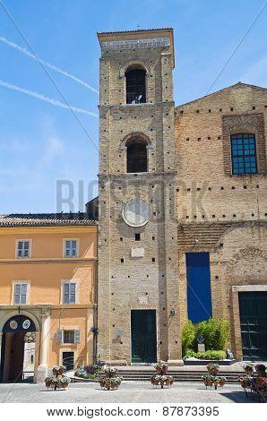 Church of St. Giuliano. Macerata. Marche. Italy.